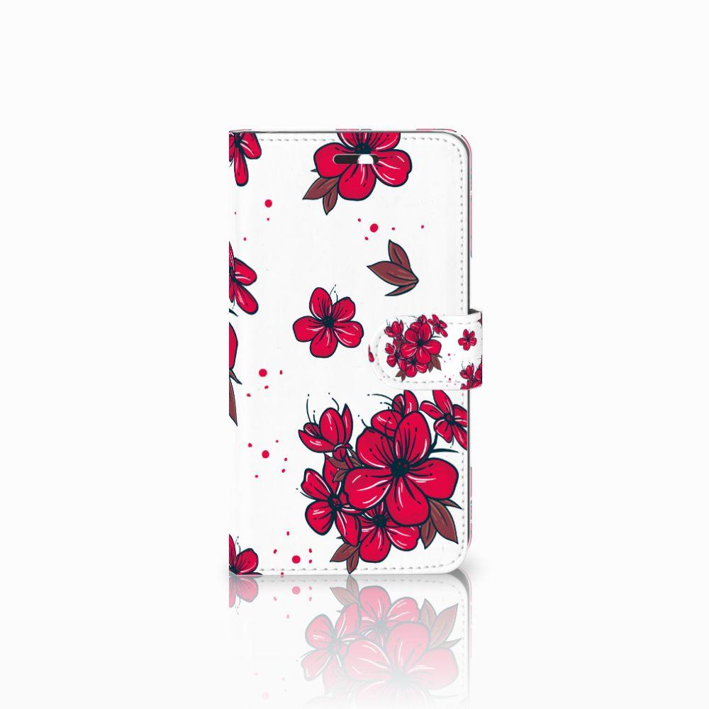 Huawei Y6 II | Honor 5A Boekhoesje Design Blossom Red