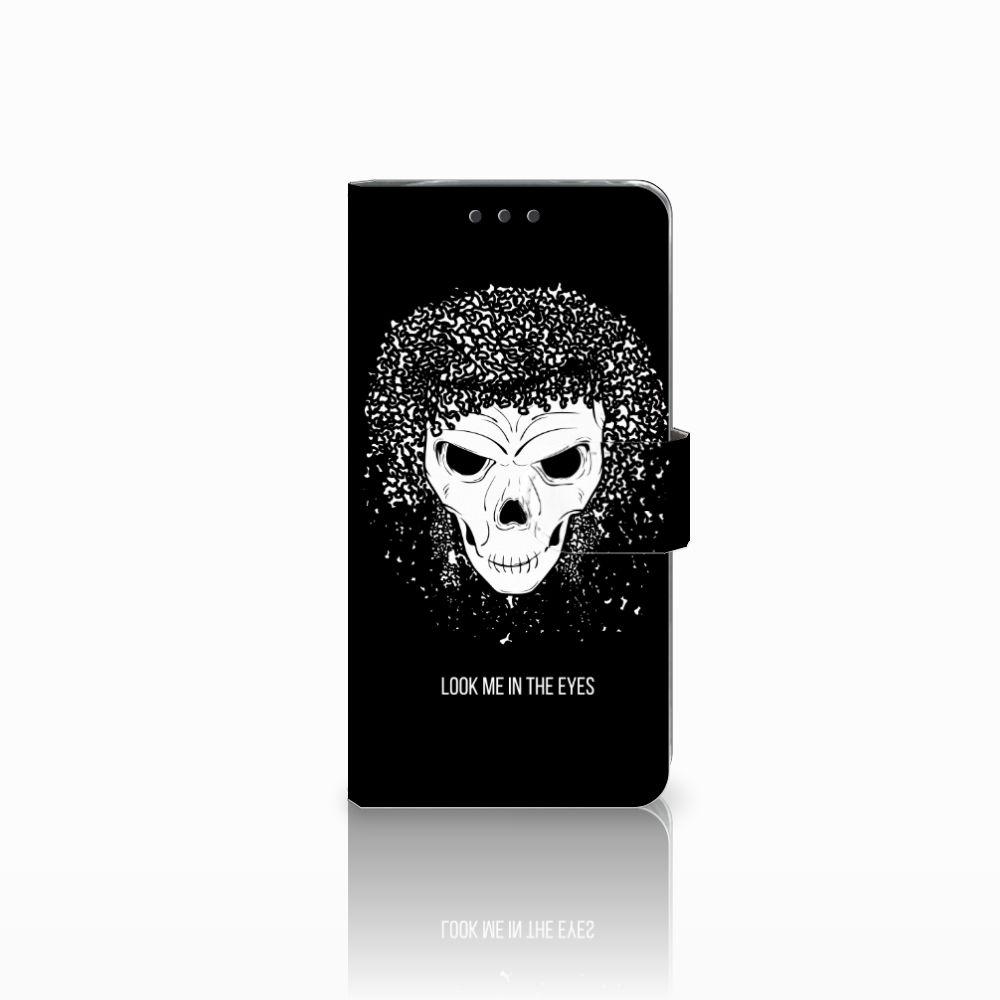 LG G5 Uniek Boekhoesje Skull Hair