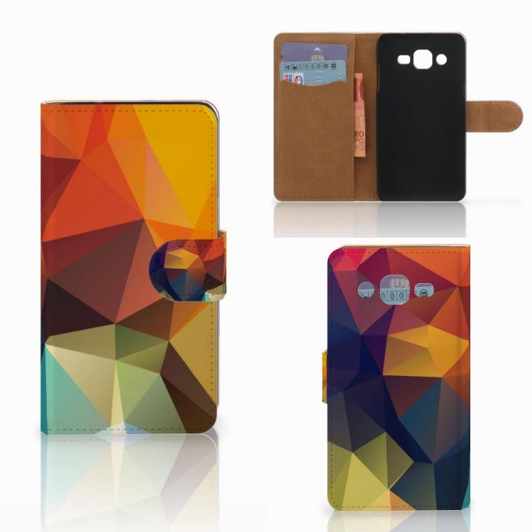 Samsung Galaxy J2 (2015) Bookcase Polygon Color