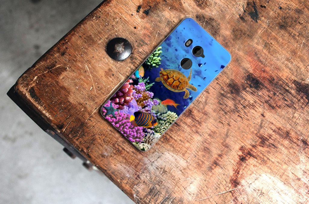 HTC U11 Plus TPU Hoesje Design Vissen