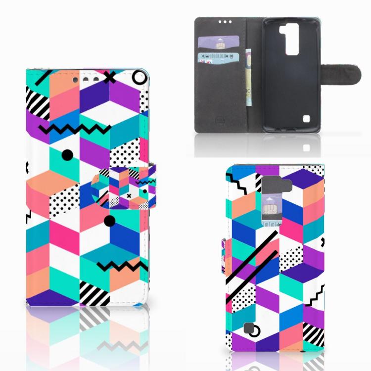 LG K8 Bookcase Blokken Kleurrijk