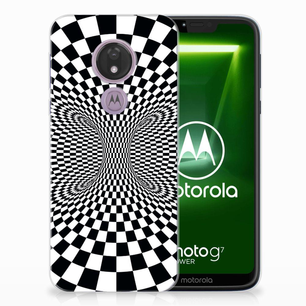 Motorola Moto G7 Power TPU Hoesje Illusie
