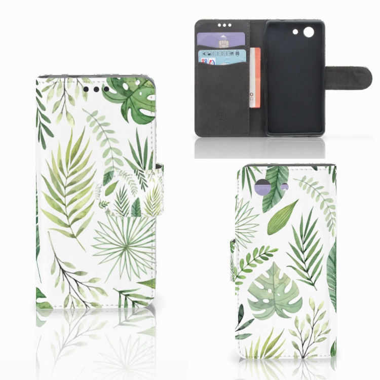 Sony Xperia Z3 Compact Hoesje Leaves