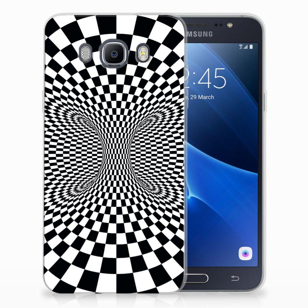 Samsung Galaxy J7 2016 TPU Hoesje Illusie