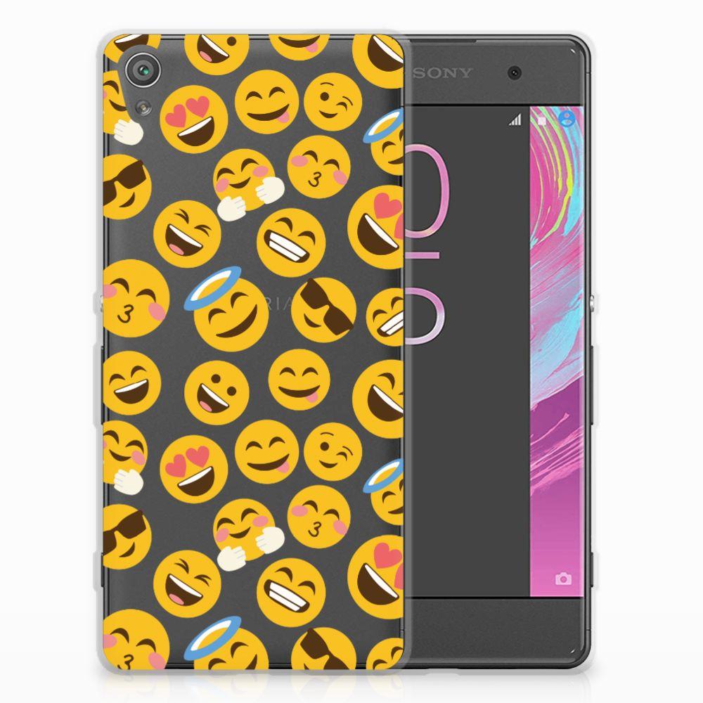 Sony Xperia XA | XA Dual TPU Hoesje Design Emoji