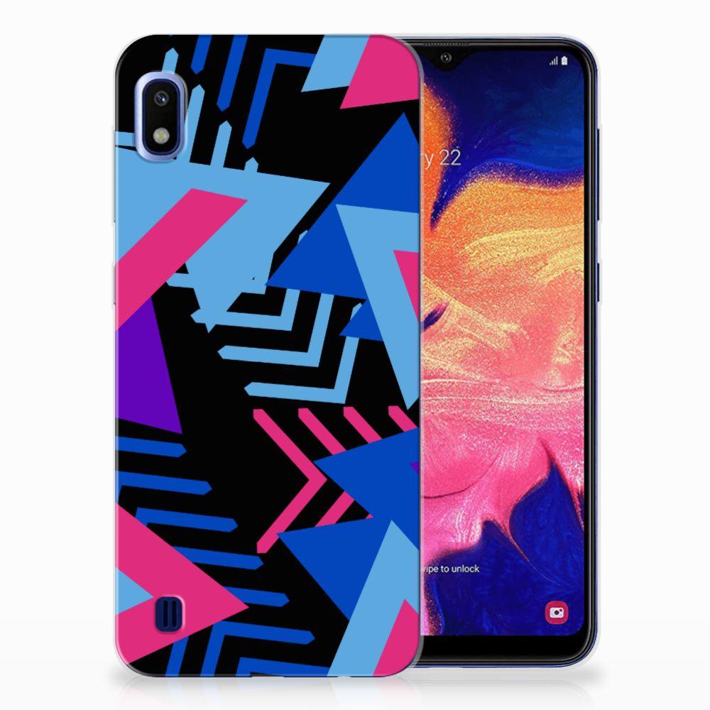 Samsung Galaxy A10 TPU Hoesje Funky Triangle