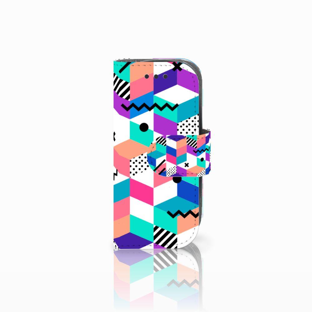 Nokia 3310 (2017) Boekhoesje Design Blocks Colorful