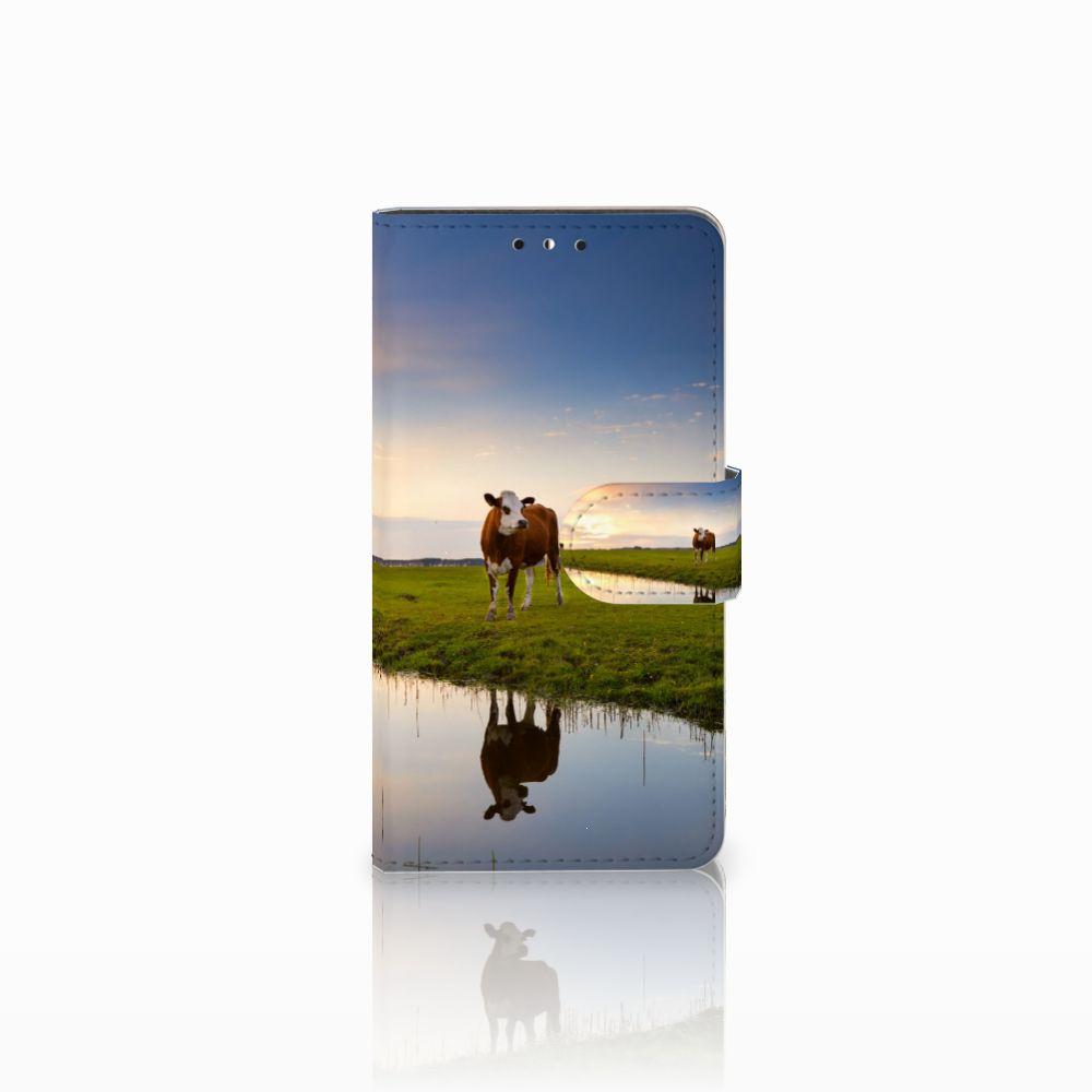 Huawei Y5 | Y6 2017 Boekhoesje Design Koe