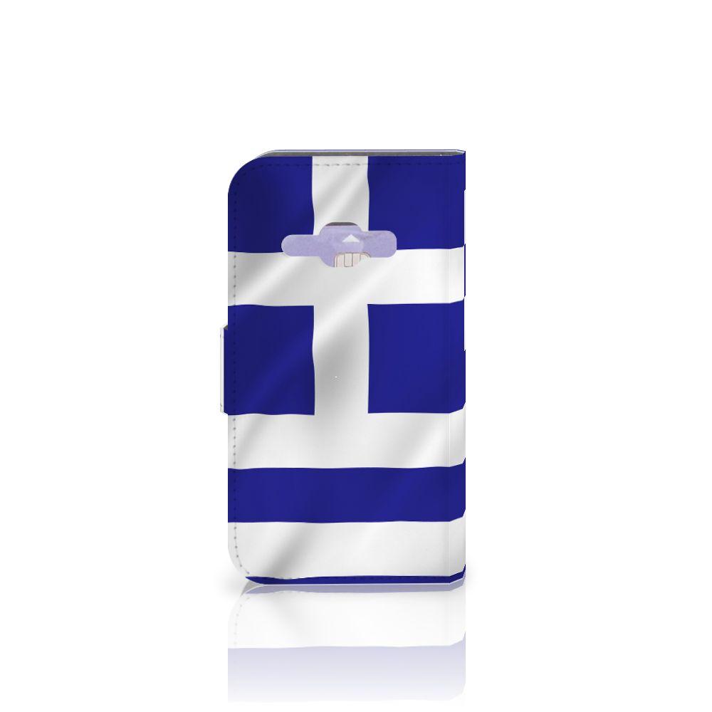 Samsung Galaxy J1 2016 Bookstyle Case Griekenland
