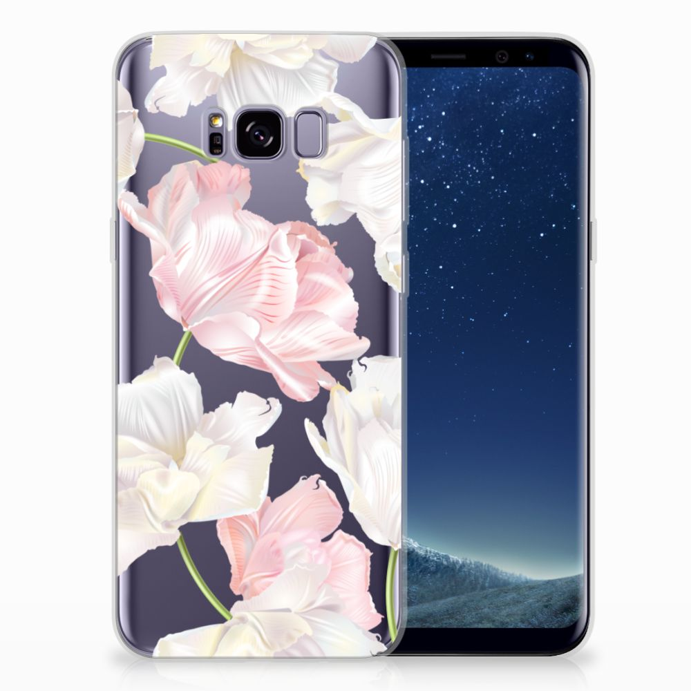 Samsung Galaxy S8 Plus TPU Hoesje Design Lovely Flowers