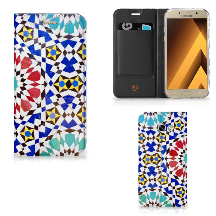 Samsung Galaxy A5 2017 Standcase Mozaïek