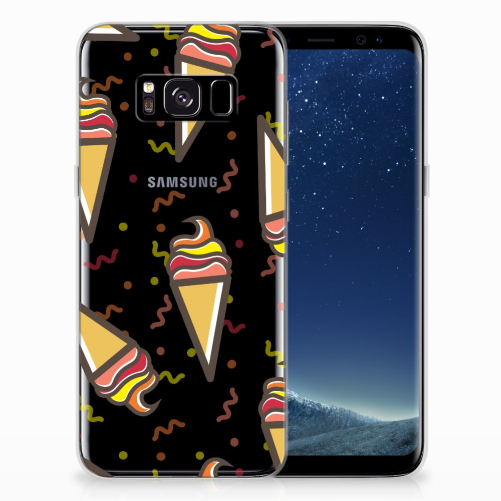 Samsung Galaxy S8 Siliconen Case Icecream