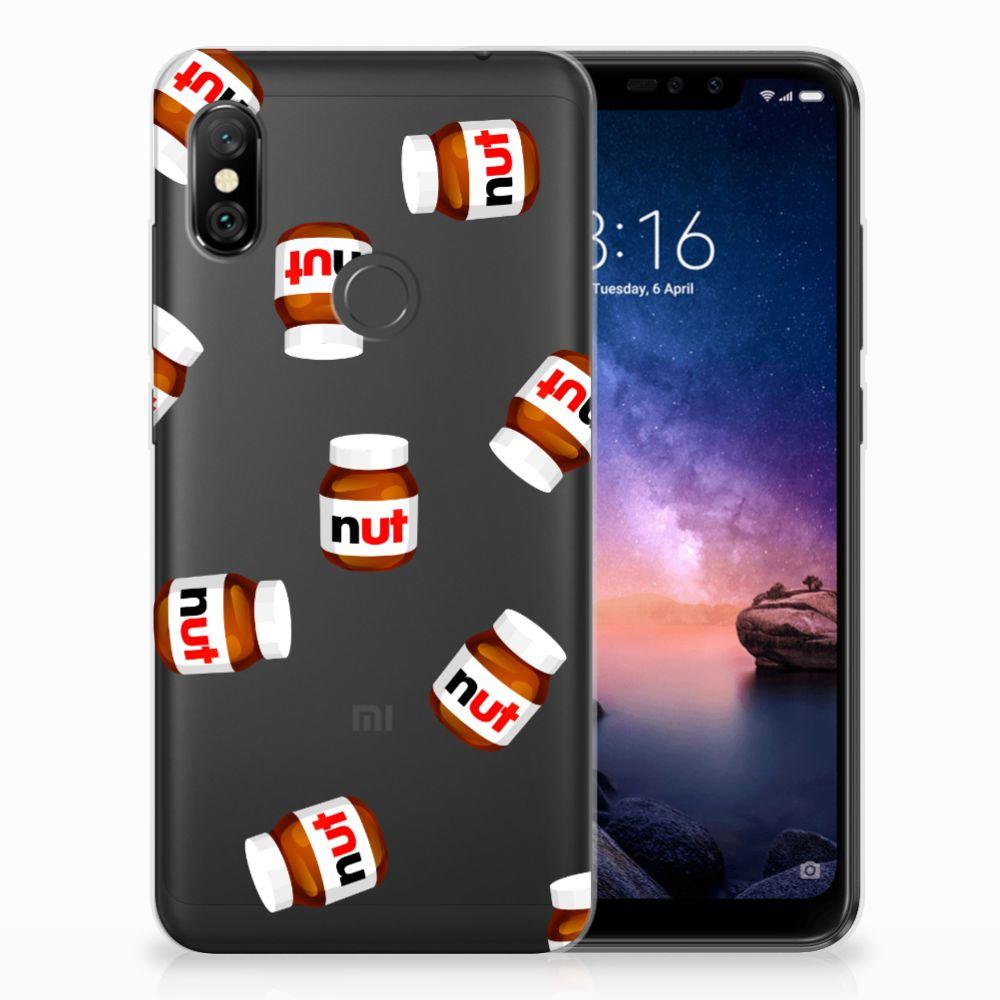 Xiaomi Redmi Note 6 Pro Siliconen Case Nut Jar