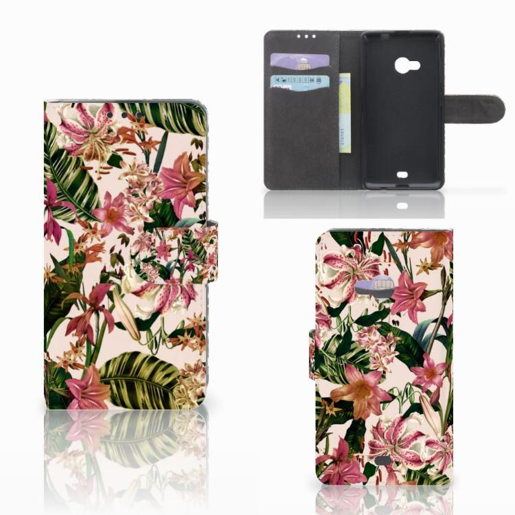 Microsoft Lumia 535 Hoesje Flowers
