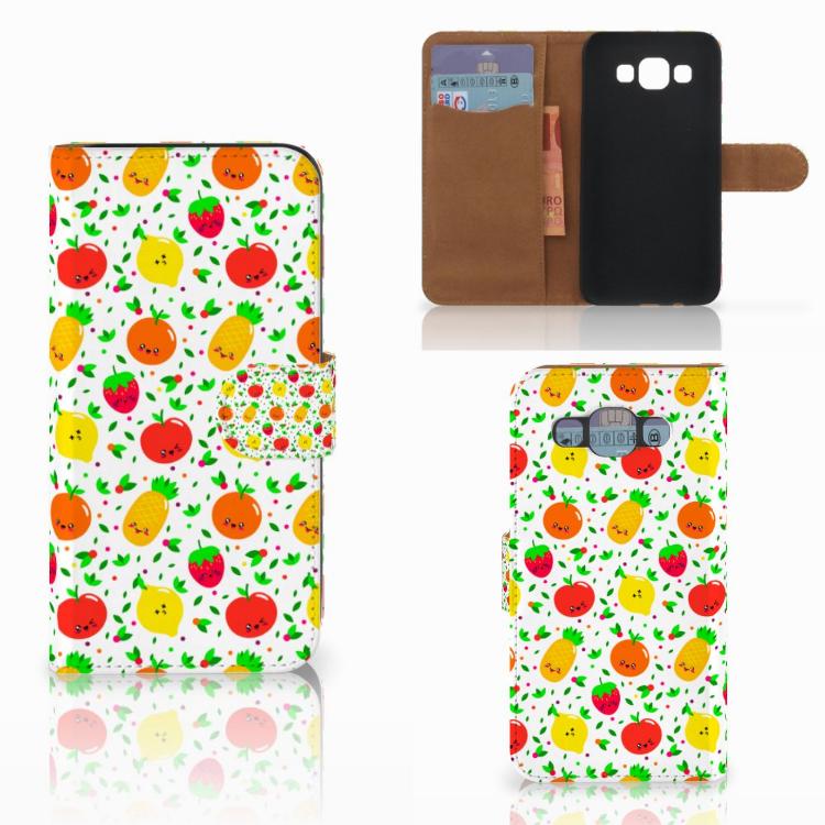 Samsung Galaxy E5 Book Cover Fruits