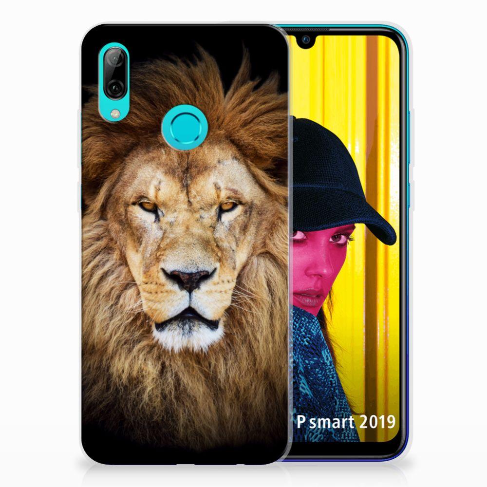 Huawei P Smart 2019 TPU Hoesje Leeuw