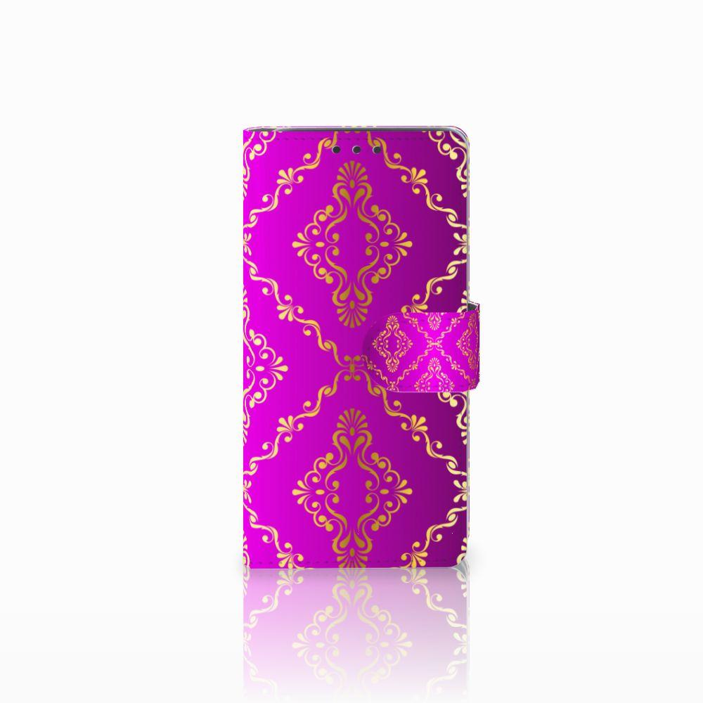 HTC Desire 626 | Desire 626s Uniek Boekhoesje Barok Roze