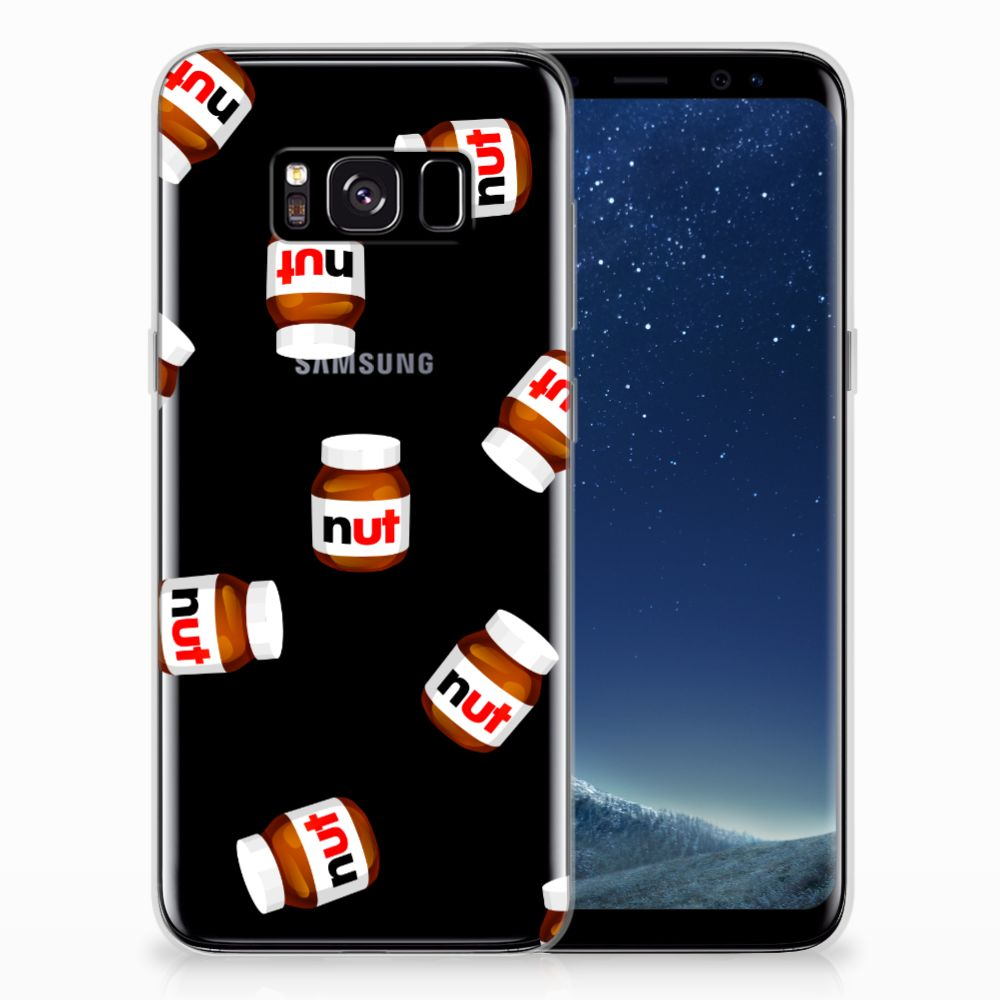 Samsung Galaxy S8 Siliconen Case Nut Jar