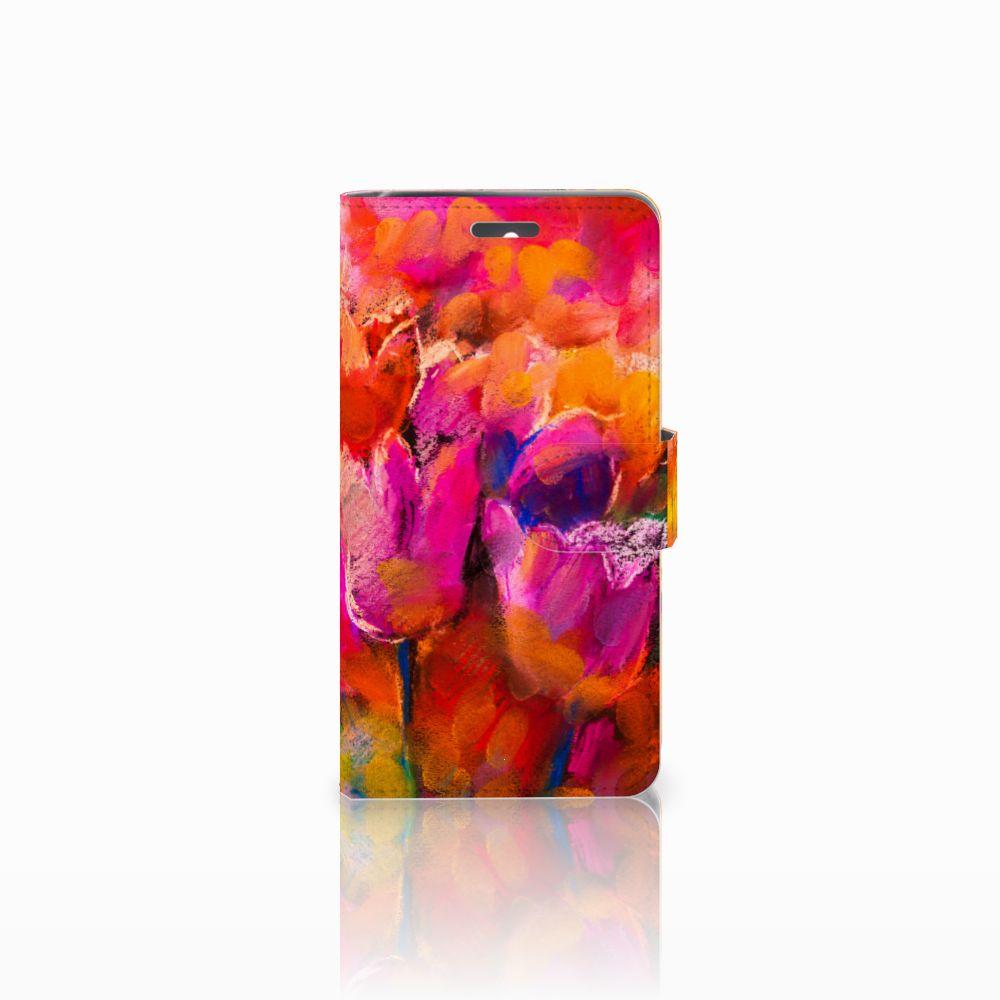 Lenovo K6 Boekhoesje Design Tulips