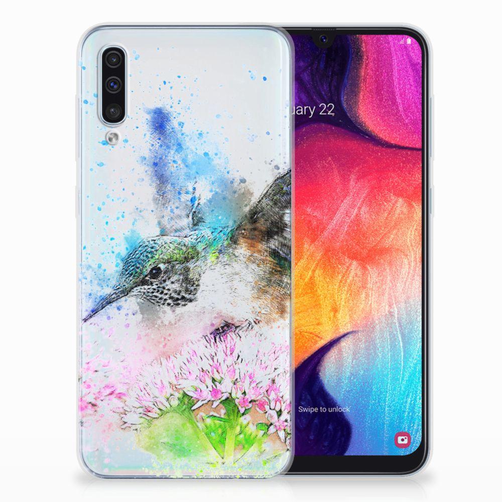 Hoesje maken Samsung Galaxy A50 Vogel