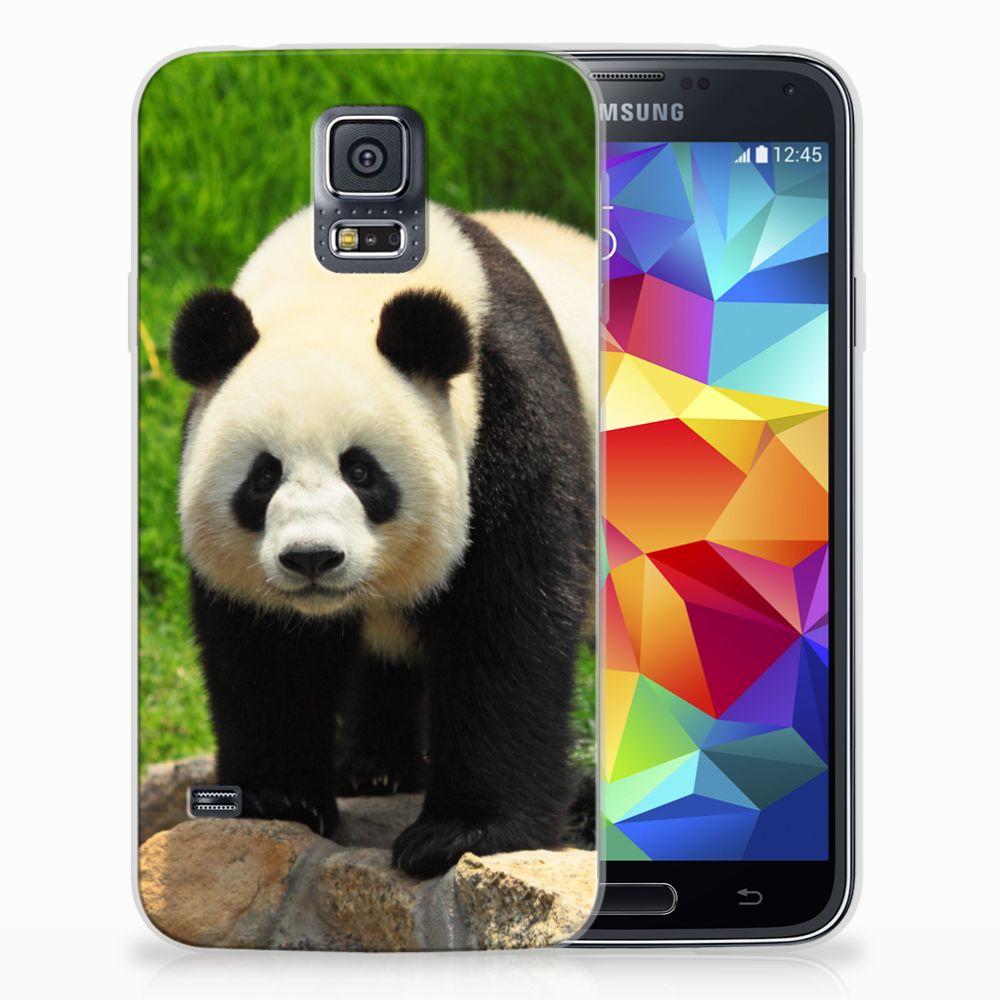 Samsung Galaxy S5 TPU Hoesje Design Panda