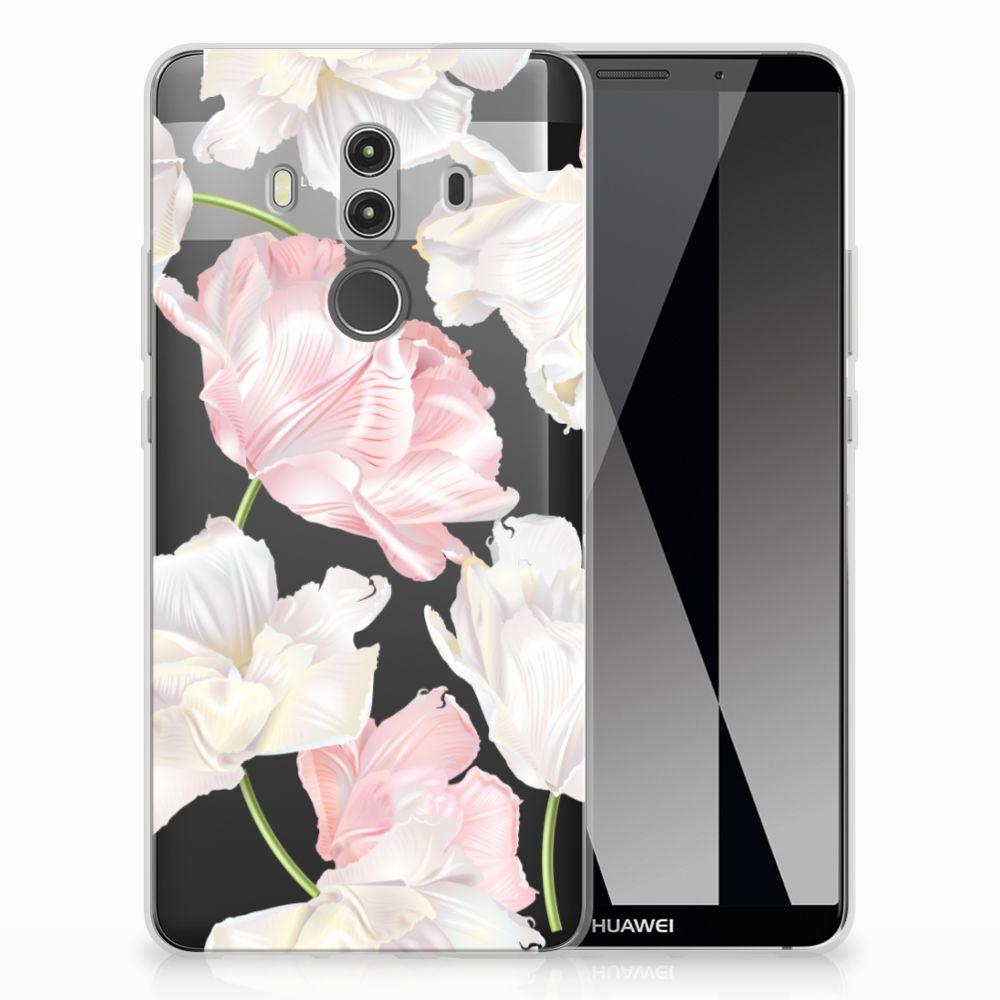 Huawei Mate 10 Pro TPU Hoesje Design Lovely Flowers
