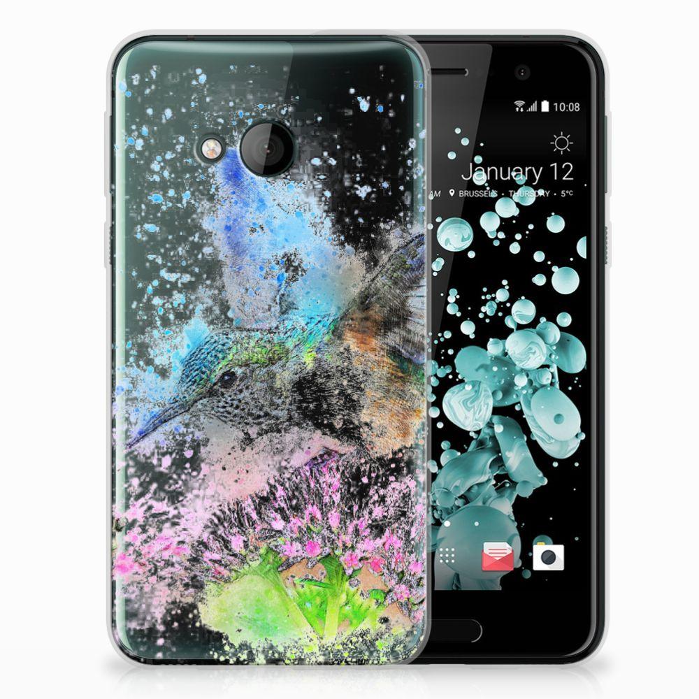 HTC U Play TPU Hoesje Design Vogel