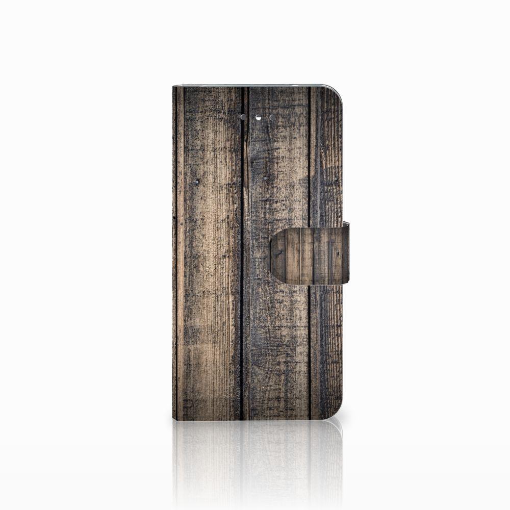 LG Nexus 5X Boekhoesje Design Steigerhout