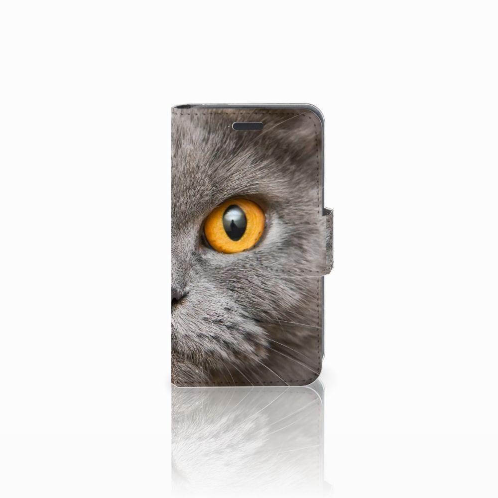 Nokia Lumia 520 Uniek Boekhoesje Britse Korthaar