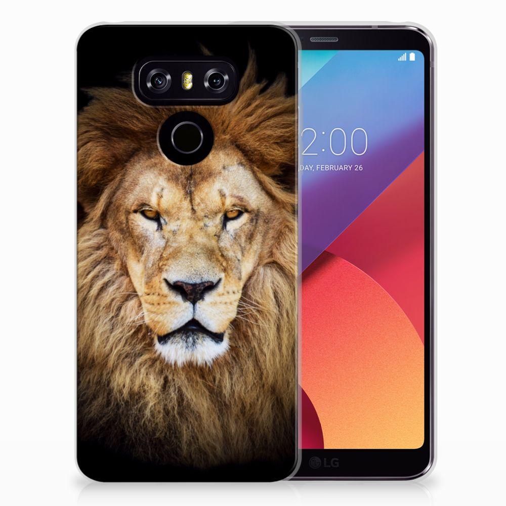 LG G6 TPU Hoesje Leeuw