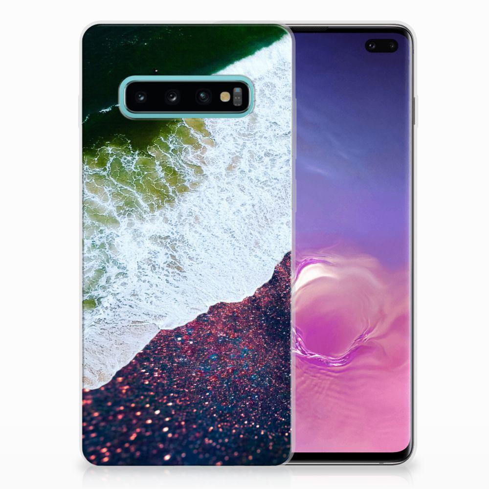 Samsung Galaxy S10 Plus TPU Hoesje Sea in Space