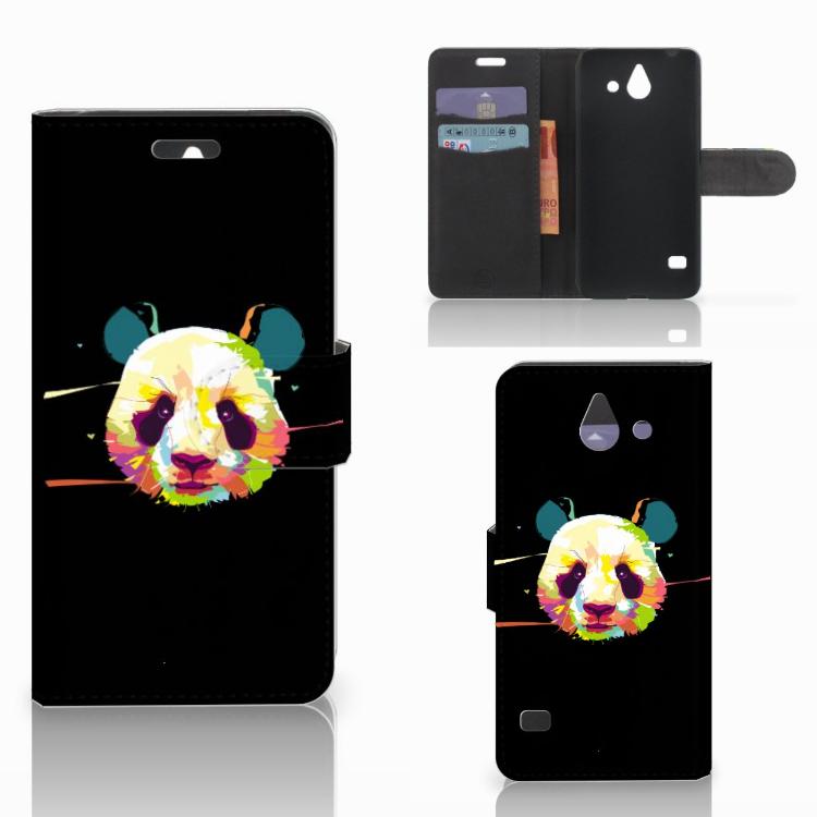 Huawei Ascend Y550 Leuk Hoesje Panda Color