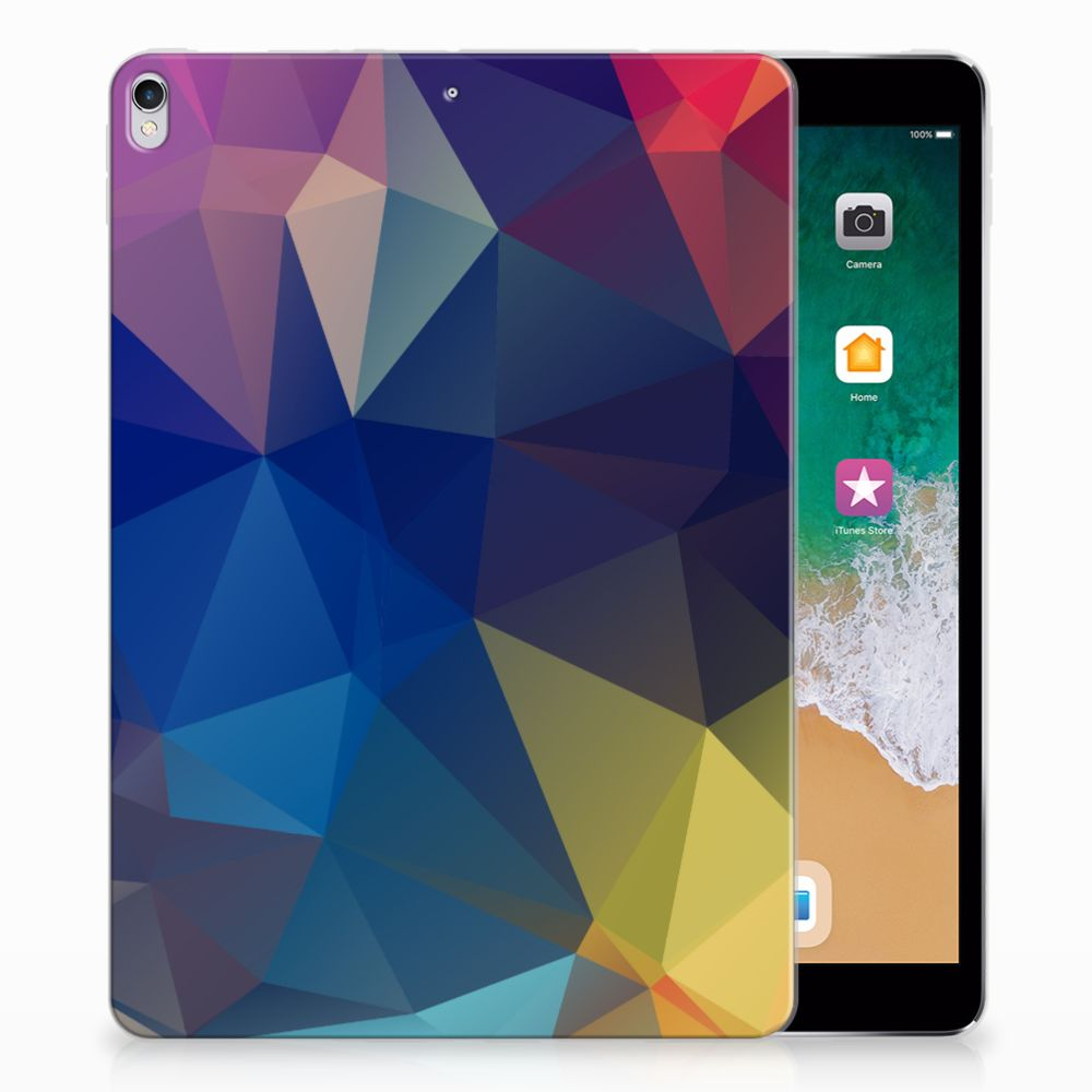 Apple iPad Pro 10.5 Back Cover Polygon Dark