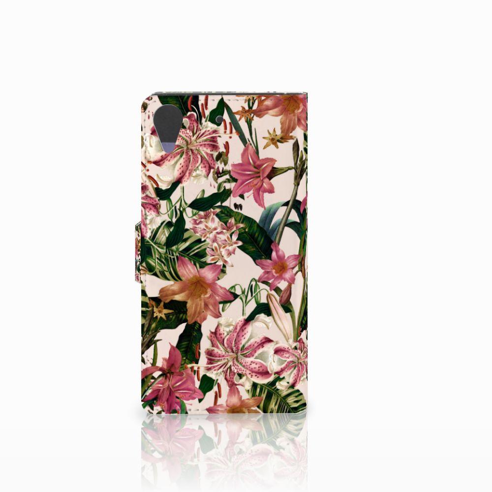 HTC Desire 628 Hoesje Flowers
