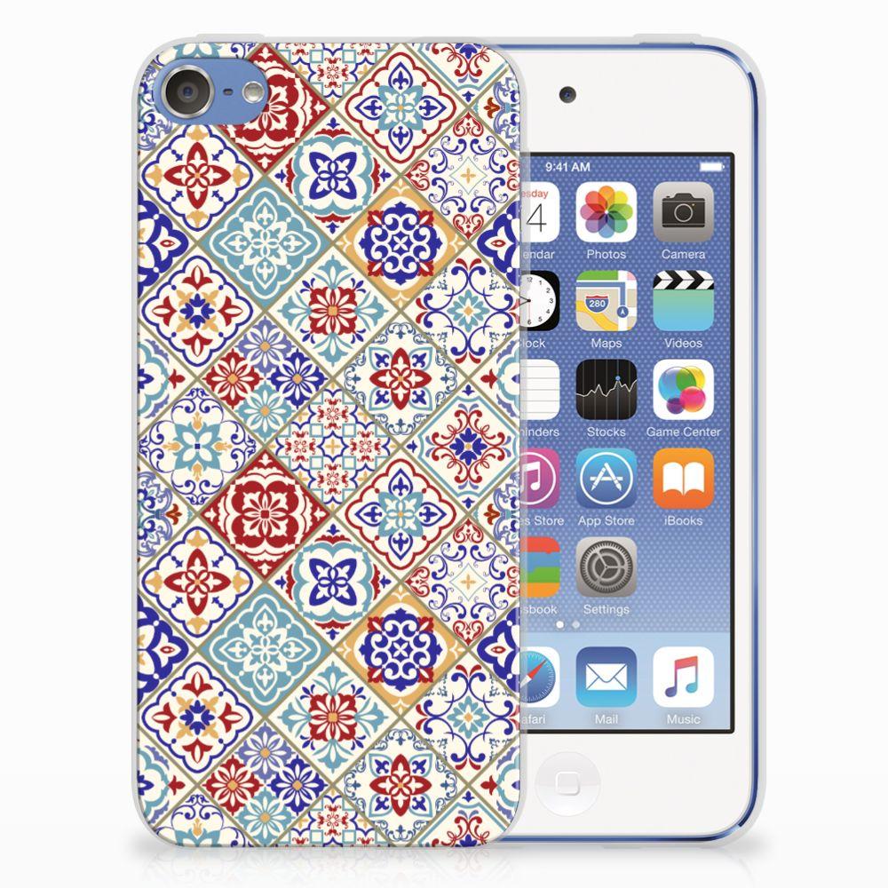 Apple iPod Touch 5 | 6 Uniek TPU Hoesje Tiles Color