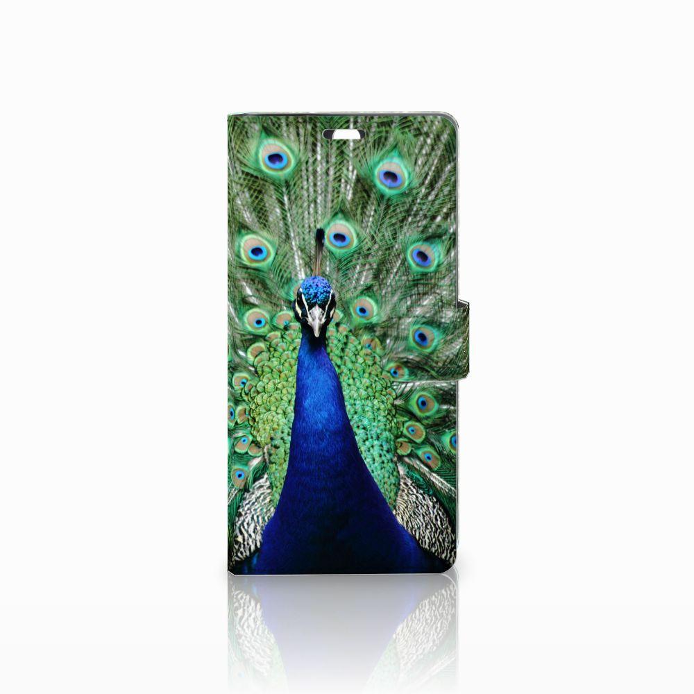 Sony Xperia C5 Ultra Boekhoesje Design Pauw