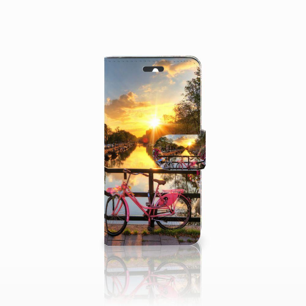 Huawei Ascend Y550 Uniek Boekhoesje Amsterdamse Grachten