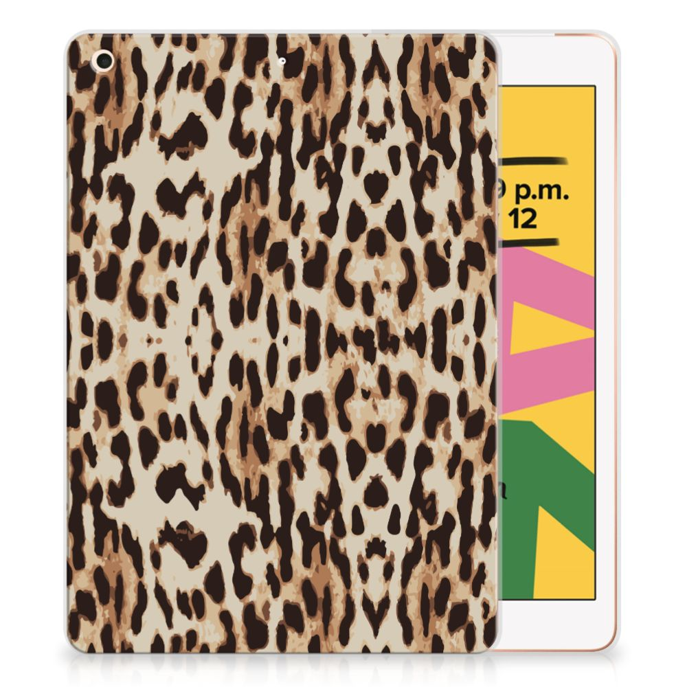 Apple iPad 10.2 (2019) Back Case Leopard