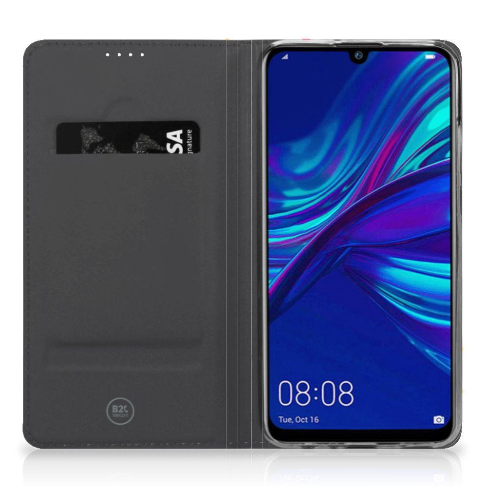 Huawei P Smart (2019) Flip Style Cover Donut Roze