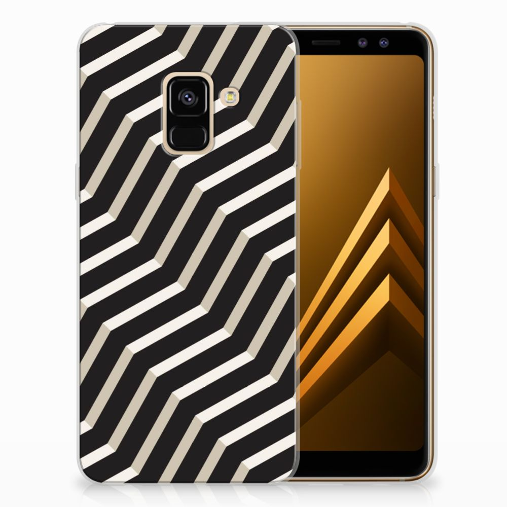 Samsung Galaxy A8 (2018) TPU Hoesje Design Illusion