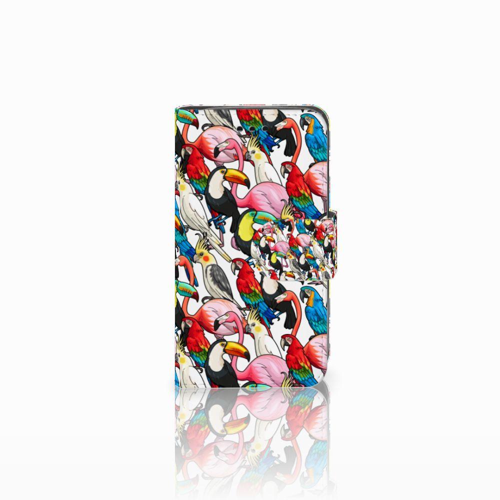 Samsung Galaxy Trend 2 Uniek Boekhoesje Birds