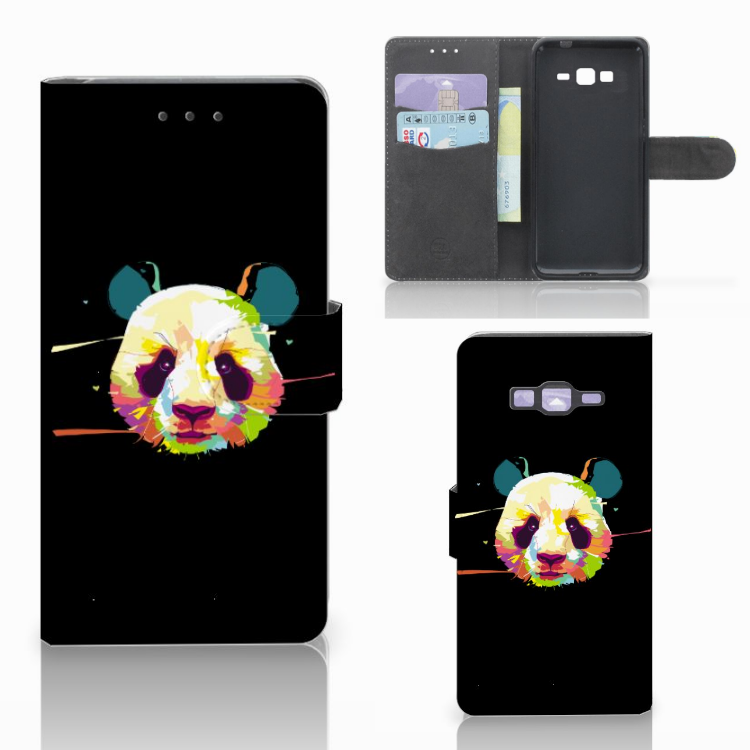 Samsung Galaxy Grand Prime | Grand Prime VE G531F Leuk Hoesje Panda Color