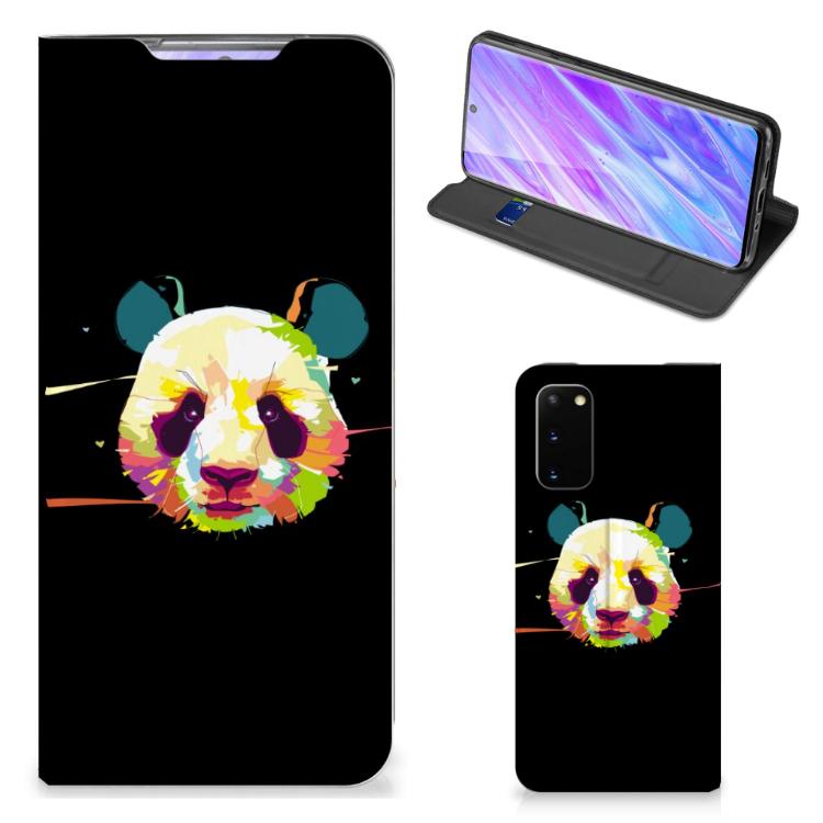 Samsung Galaxy S20 Magnet Case Panda Color