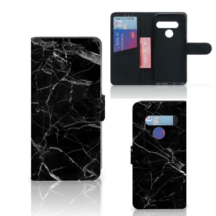 LG G8s Thinq Bookcase Marmer Zwart