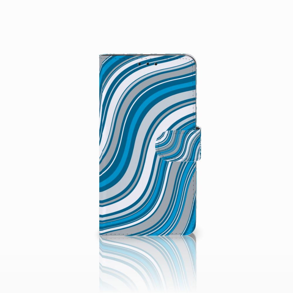 Huawei Honor 6X Boekhoesje Design Waves Blue