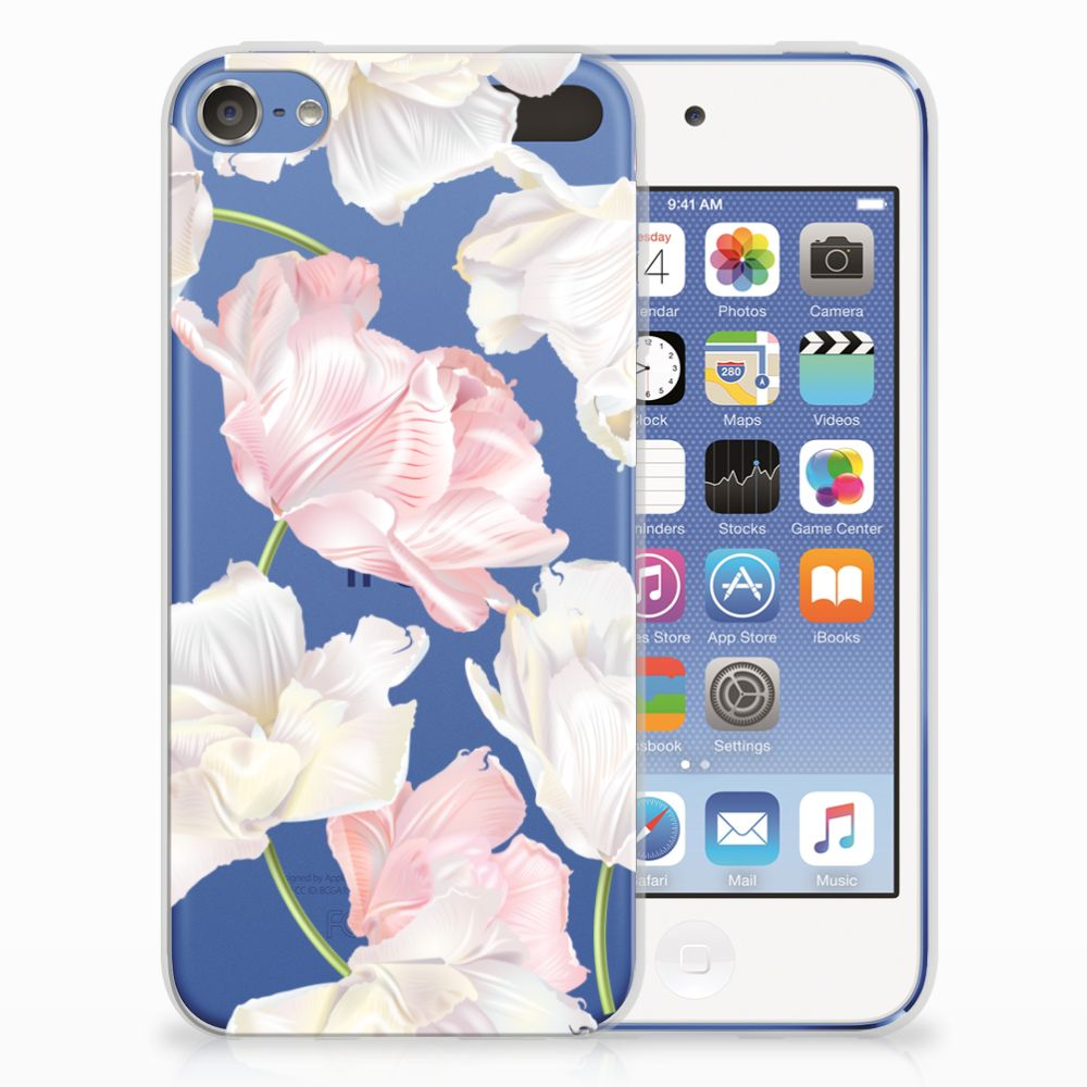 Apple iPod Touch 5 | 6 TPU Hoesje Design Lovely Flowers