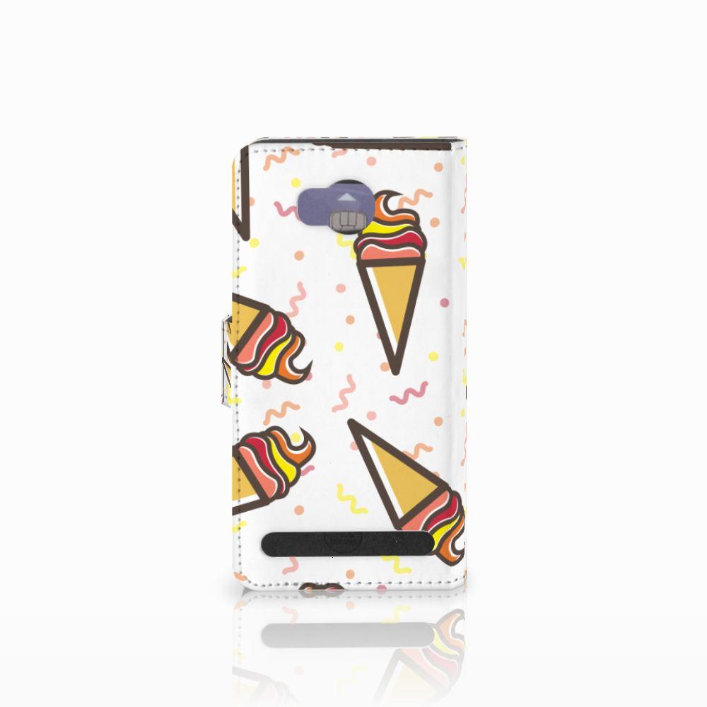 Huawei Y3 2   Y3 II Book Cover Icecream