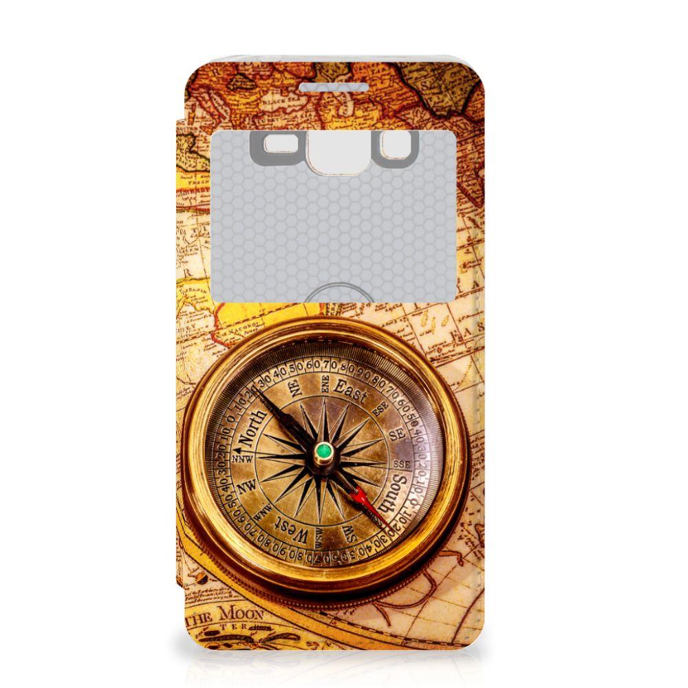 Samsung Galaxy Grand Prime Flip Cover Kompas