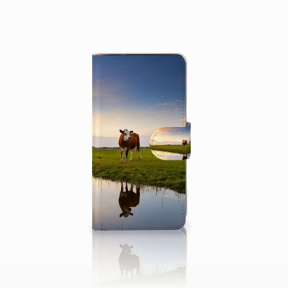 Samsung Galaxy J2 (2015) Boekhoesje Design Koe