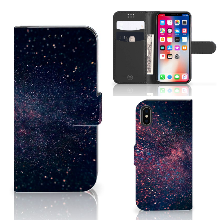 Apple iPhone X | Xs Bookcase Stars